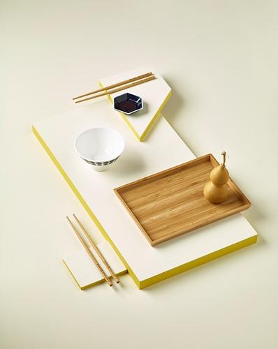 OSTBIT - tray, bamboo, 25x33 cm | IKEA Indonesia - PH152791_S4