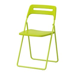 NISSE - Folding chair, green