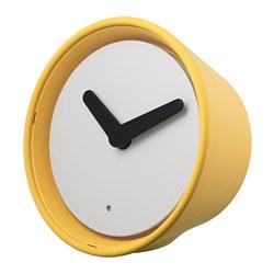 STOLPA - Clock, yellow
