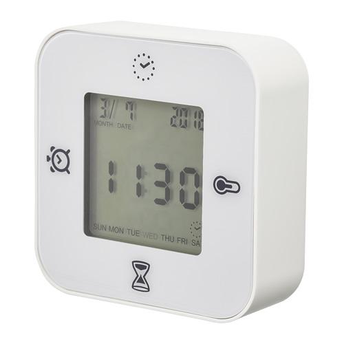 KLOCKIS jam/termometer/alarm/pengatur waktu
