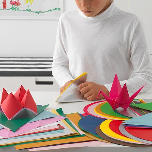 LUSTIGT kertas origami