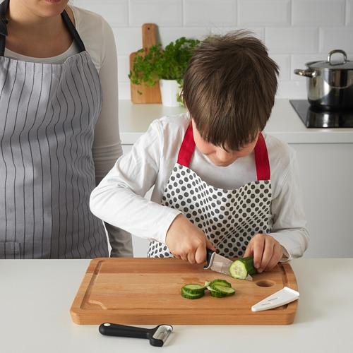 SMÅBIT pisau dan pengupas