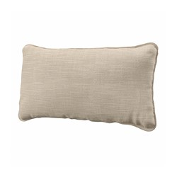 VALLENTUNA - Back cushion, Hillared beige