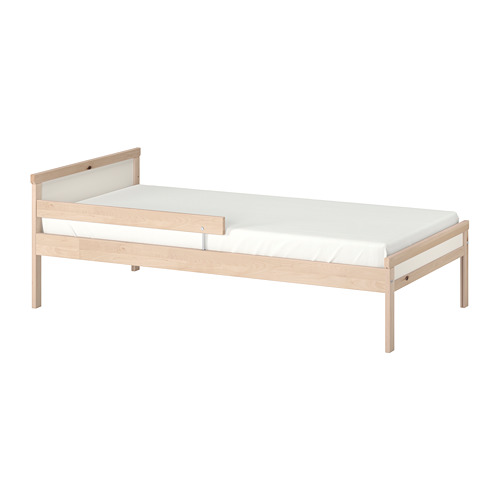 SNIGLAR rangka tempat tidur & rel pengaman
