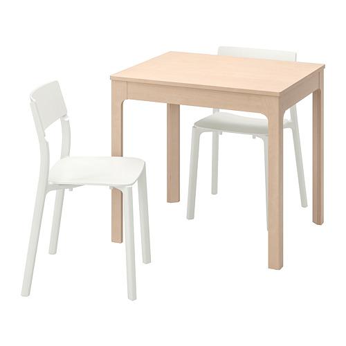 JANINGE/EKEDALEN meja dan 2 kursi