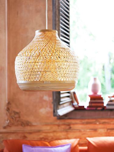 MISTERHULT - lampu gantung, bambu/buatan tangan, 45 cm | IKEA Indonesia - PH168926_S4