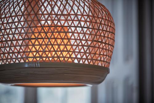 MISTERHULT - lampu gantung, bambu/buatan tangan, 45 cm | IKEA Indonesia - PH168542_S4