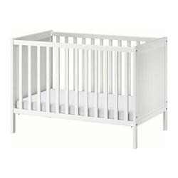 SUNDVIK - Ranjang bayi, putih, 60x120 cm