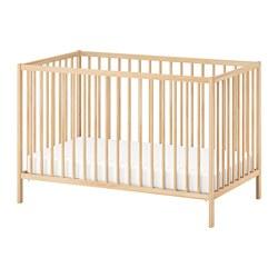 SNIGLAR - Ranjang bayi, kayu birch