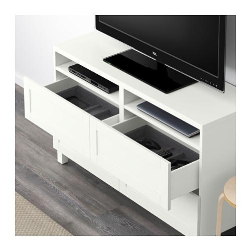 BESTÅ meja TV dengan laci