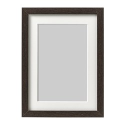 HOVSTA - Frame, dark brown