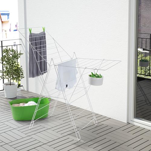 FROST - jemuran, dalam/luar ruang, putih   IKEA Indonesia - PE567226_S4