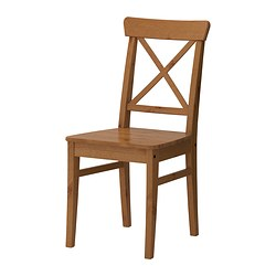 INGOLF - Chair, antique stain
