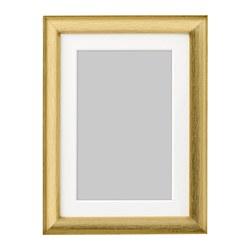 SILVERHÖJDEN - Frame, gold-colour