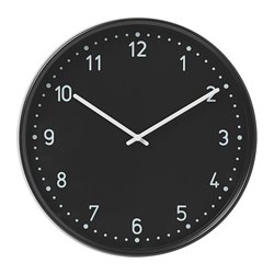 BONDIS - Jam dinding, hitam