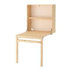IVAR - Unt pnyimpann dg meja dpt dlipat, kayu pinus