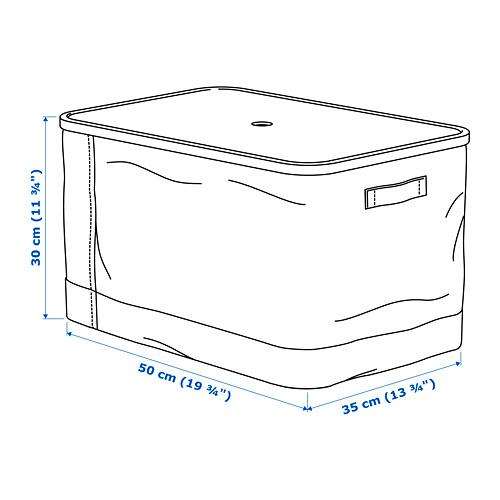 RABBLA kotak dengan penutup