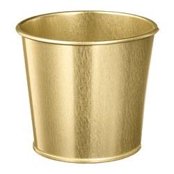 DAIDAI - Plant pot, brass-colour