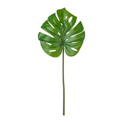 SMYCKA - Artificial leaf, Monstera/green