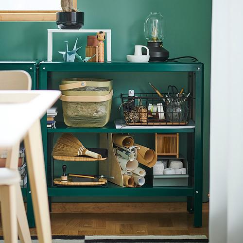 KOLBJÖRN - unit rak dalam/luar ruang, hijau, 80x81 cm | IKEA Indonesia - PH173480_S4