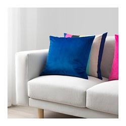 VENCHE - Sarung bantal kursi, biru