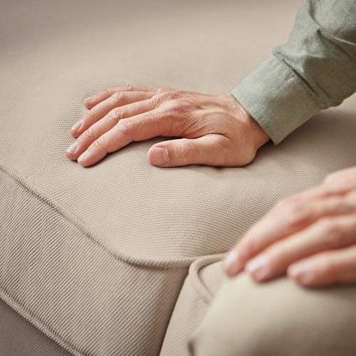 EKTORP - sofa 3 dudukan, Hallarp krem | IKEA Indonesia - PE794478_S4