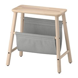 VILTO - Storage stool, birch