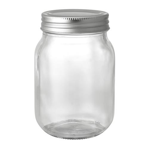 FRYNTLIG jar with lid