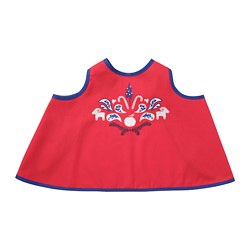 VINTERFEST - Children's apron, red