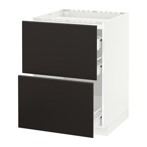 METOD/FÖRVARA kab dasar u kompor/2 bag dpn/3 laci