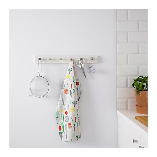 LURT/BAGGANÄS rack with 6 knobs