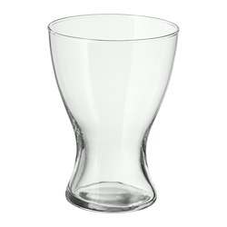 VASEN - Vase, clear glass