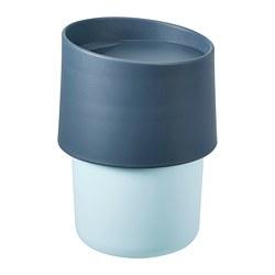 TROLIGTVIS - Travel mug, blue