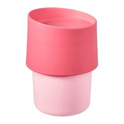 TROLIGTVIS - Travel mug, pink