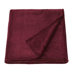 TRATTVIVA - Bedspread, dark red