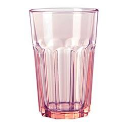 POKAL - Glass, pink