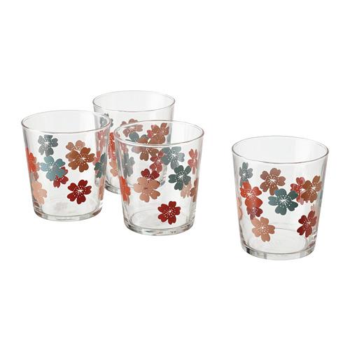 VÅRFINT - glass, glass/patterned, 30 cl | IKEA Indonesia - PE795218_S4