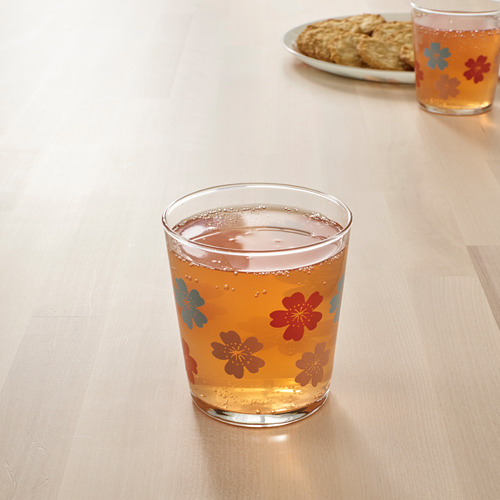 VÅRFINT - glass, glass/patterned, 30 cl | IKEA Indonesia - PE795220_S4