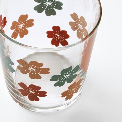 VÅRFINT - glass, glass/patterned, 30 cl | IKEA Indonesia - PE795219_S4
