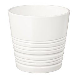 MUSKOT - Plant pot, white
