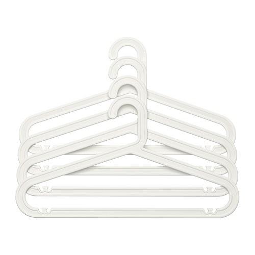 BAGIS - gantungan, dalam/luar ruang, putih, 4 –p | IKEA Indonesia - PE273963_S4