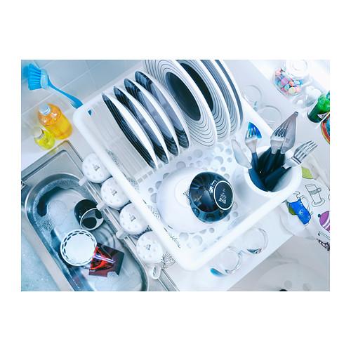 FLUNDRA dish drainer