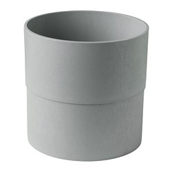 NYPON - Plant pot, in/outdoor grey