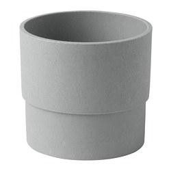 NYPON - Plant pot, in/outdoor grey