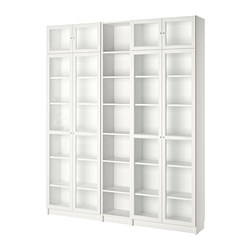 BILLY/OXBERG - Bookcase, white