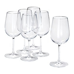 STORSINT - Wine glass, clear glass