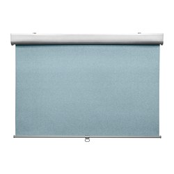 TRETUR - Block-out roller blind, light blue