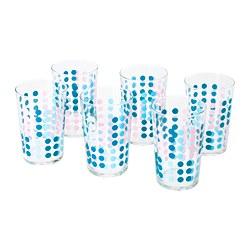 VECKAD - Glass, patterned