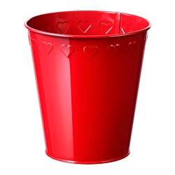 VINTERFEST - Plant pot, red