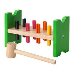 MULA - Blok mainan memalu, aneka warna